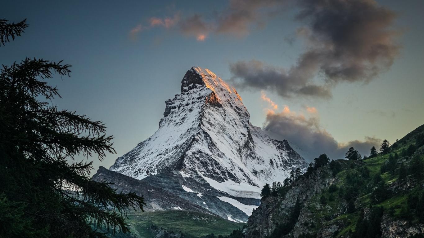 Amazing Peak, Matterhorn Nature Mountain Wallpaper