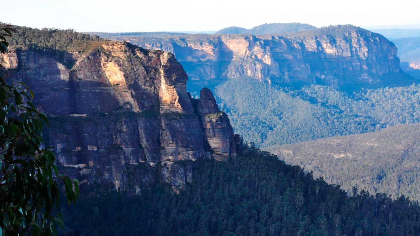 Australia, Pulpit Rock Nature Mountain Wallpaper