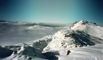 French Alps Mountain Image