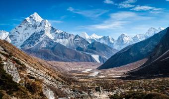 Ama Dablam Himalaya Mountain Image
