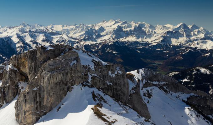 Amazing View, Alps Mountain Image
