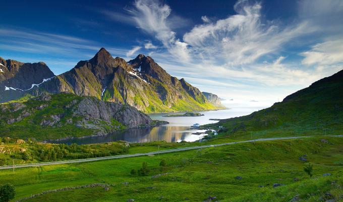 Amazing View, Green Mountain Image