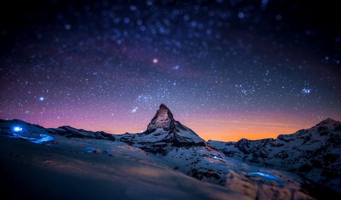 Amazing View of Matterhorn Mountain Image