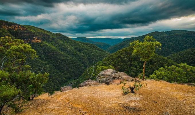 Australia, Cool Weather, Blue Mountain Image