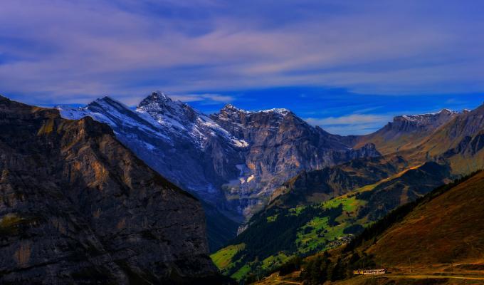 Autumn, Alps Mountain Image