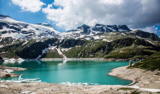 Beautiful Alps Mountain Wallpaper