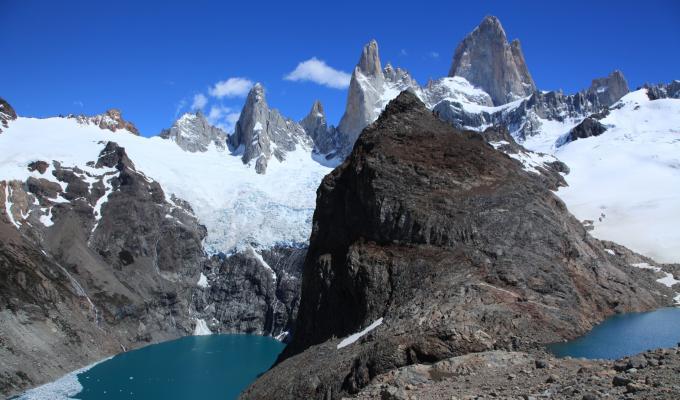 Beautiful Fitz Roy Mountain Image