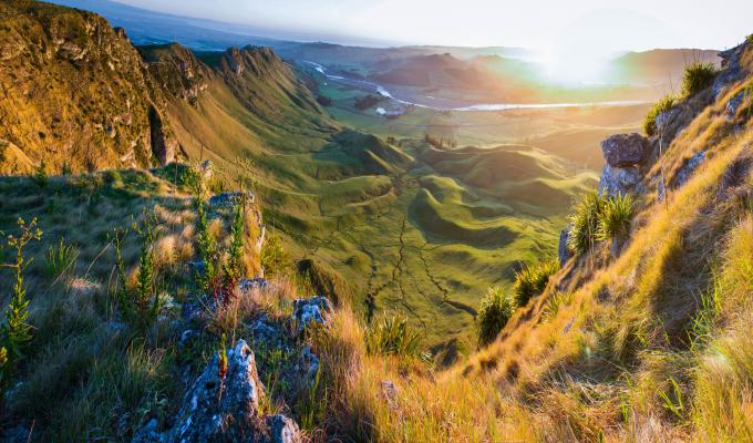 Awesome Green Mountain Image