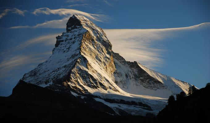 Beautiful Matterhorn Mountain Image