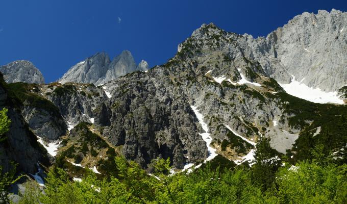 Beautiful Rocky Alps Mountain Image
