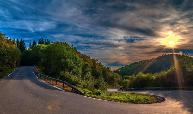 Beautiful Sunny Weather, Green Mountain Image