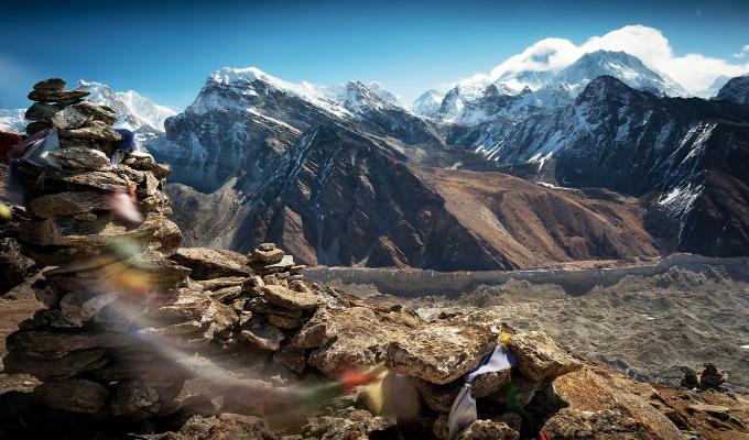 Beautiful Tibet Mountain Wallpaper