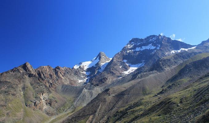 Beautiful View, Alps Mountain Image