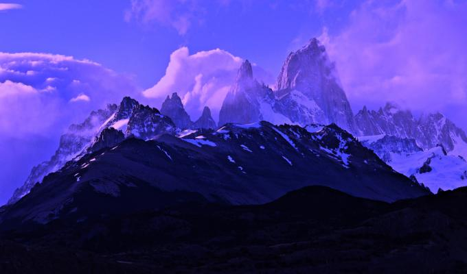 Beautiful View of Fitz Roy Mountain Image