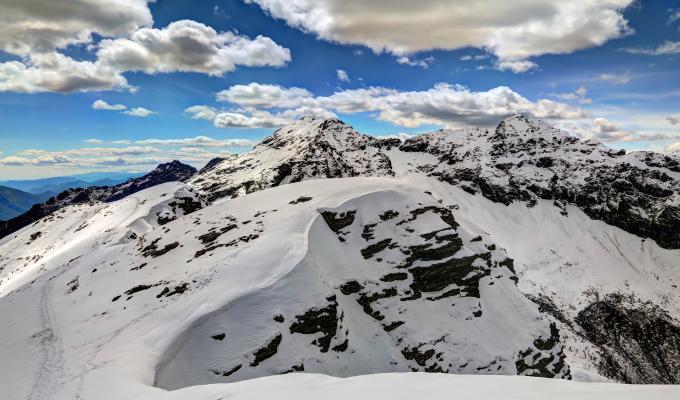 Beautiful Winter, Alps Mountain Image