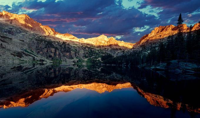 Clouds, Sunshine, Rocky Mountain Image