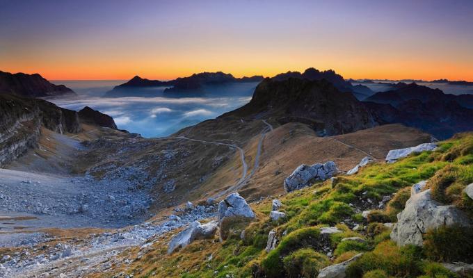 Julian Alps Mountain Image