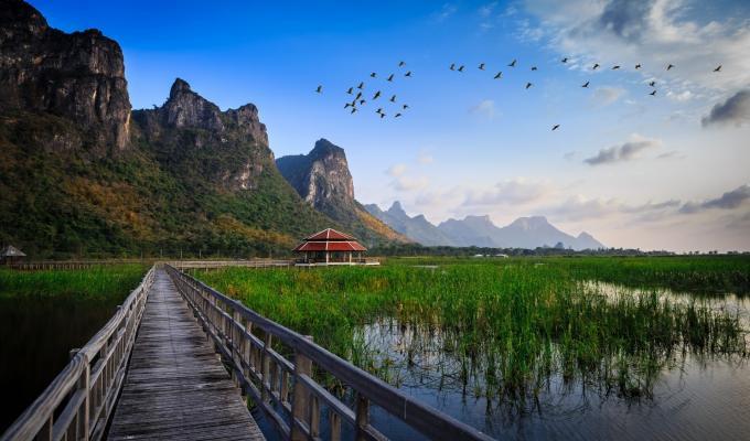 Lake, Landscape,  Mountain Wallpaper