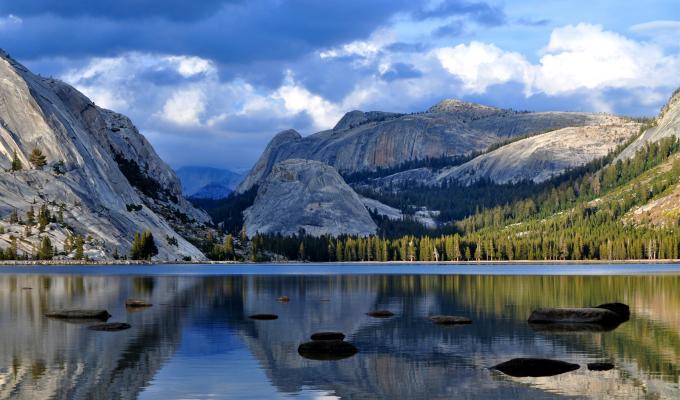 Landscape, Summer Mountain Wallpaper