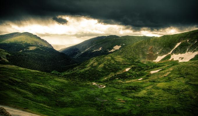 Lovely Green Mountain Image