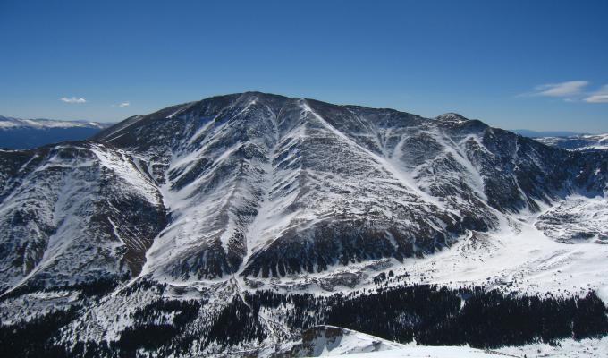 Beautiful Elbert Mountain Image