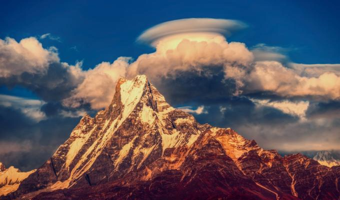 Nepal, Himalayas Mountain Image