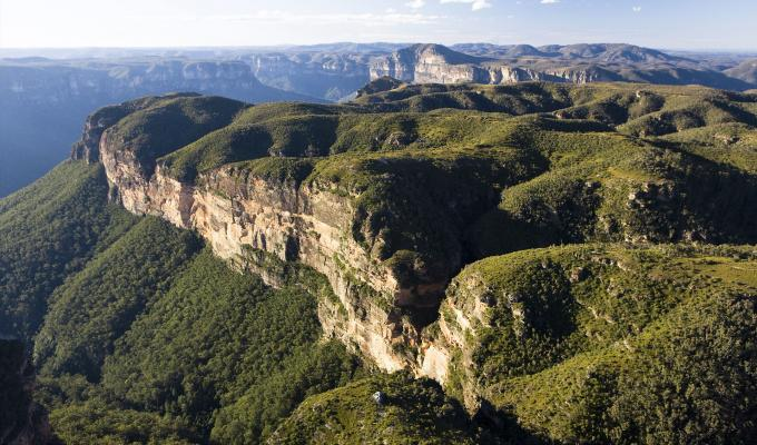 Panorama Mountain Image