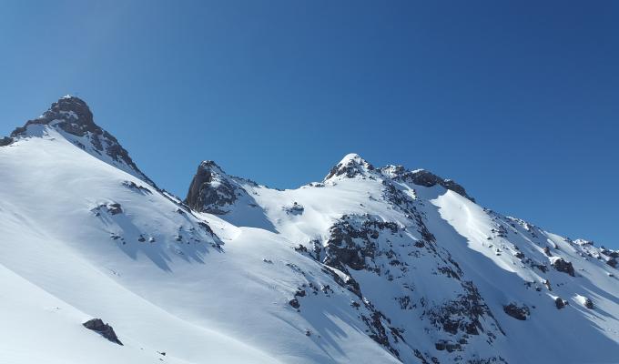 Parzinnspitze Alps Mountain Image