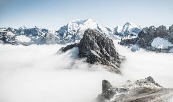 Snowy Mountain Image