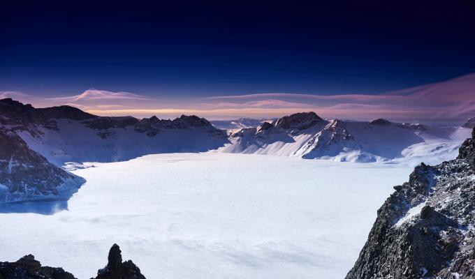 China Snow Mountain Image