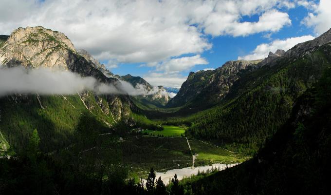 Stunning View, Green Mountain Image