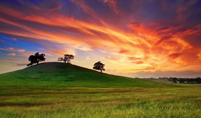 Sunset, Green Mountain Image