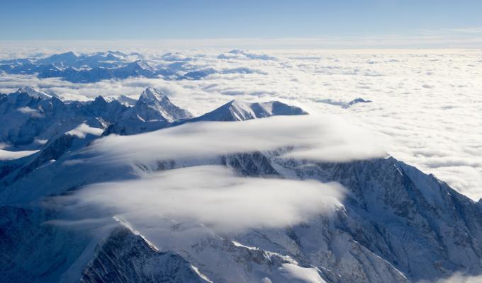 Winter, White Mountain Image
