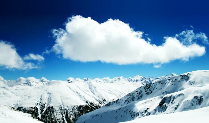 Cool Snow Mountain Image